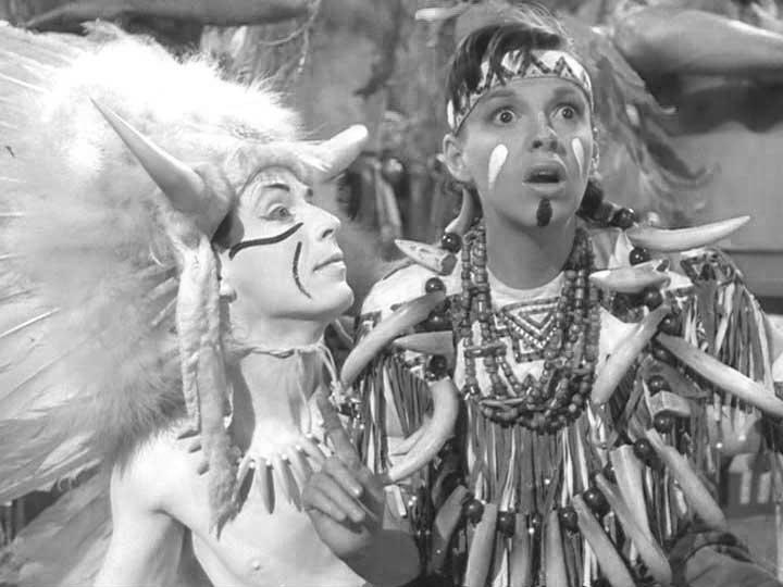 choreographer Alex Romero with Judy Garland