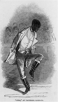 tap dancer Master Juba featured in the tap history book Tap Roots